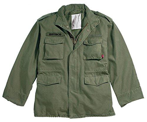 Rothco Vintage M-65 Field Jacket, Olive Drab, X-Large