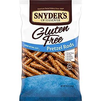 gluten free pretzel rods