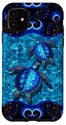 iPhone 11 Hawaii Sea Turtle Blue Ocean Summer   Blue Ocean Turtle Case