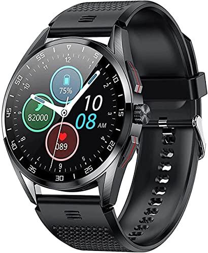 Reloj inteligente IP68 impermeable pulsera inteligente, rastreador de salud con monitoreo de salud, llamada Bluetooth pulsera de deportes inteligente