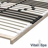 VitaliSpa 7-Zonen-Lattenrost 90x200cm Premium Härtegradverstellung Komfort (Einzeln) - 2