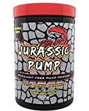 Jurassic Pump Muscle Pump Powder - Non-Stimulant, Nitric Oxide Booster Meets Sodium Pump - 6 Grams Pure Citrulline, 2 Huge Grams Pink Himalayan Salt, 30 Servings
