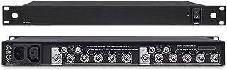 Unidad de distribución de 500-599 MHZ para distribución de energía de antena, micrófono inalámbrico de conferencias de 8 c...