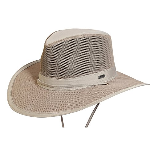 Airflow Light Weight Supplex Outdoor Hat,Sand,Large - http://coolthings.us