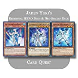 Yu-Gi-Oh! GX - Jaden Yuki's Complete Elemental Hero Neo Spacian Fusion Deck
