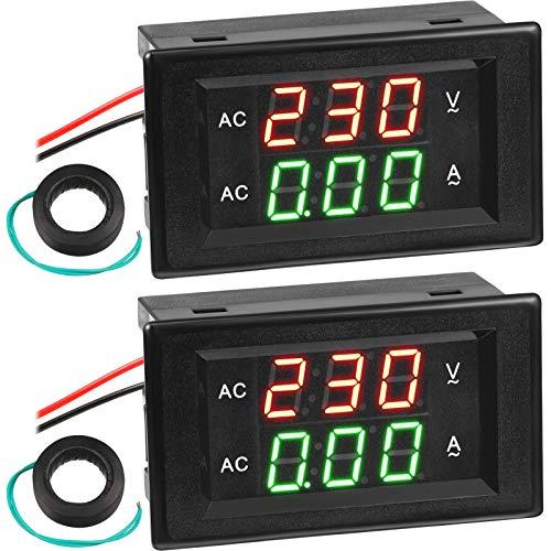 Volt Amp Meter AC 500V 200A Voltmeter AC Voltage and Current...