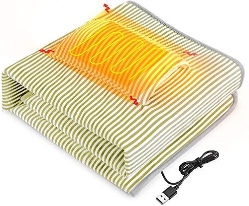 HUIQ® - Manta con calefacción, Mini Manta eléctrica, 43 * 28 Pulgadas,...