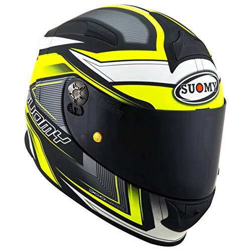 Suomy Sr-Sport Engine, Matt Black/Yellow Fluo, M