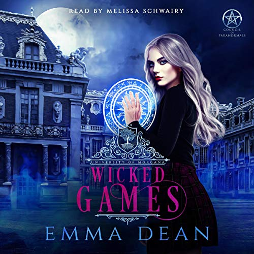 Wicked Games (A Reverse Harem Academy Series) audiobook cover art