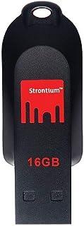 Strontium Pollex 16 GB USB Pen Drive  Black/Red