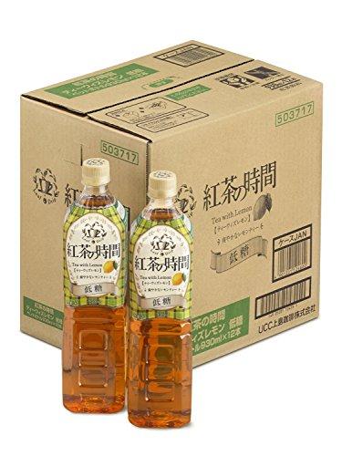 UCC上島珈琲『紅茶の時間ティーウィズレモン低糖』