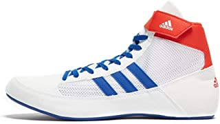 Havoc Mens Adult Wrestling Trainer Shoe Boot White/Blue/Red