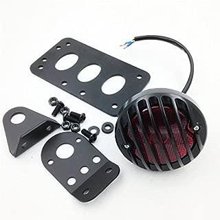 XKH Group Motor Side Mount License Bracket LED Tail Light for Custom Bobber Chopper Sportster XL new
