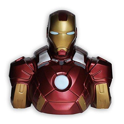 Close Up Marvel Deluxe Spardose Iron Man Büste aus PVC