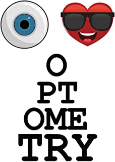 I Love Optometry: Journal and Notebook for Optometrists