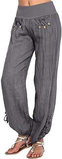 Hapeisy Women's Casual wide-leg Trousers