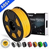 ♥Material: ABS Plus - Color: Yellow gold - Weight: 1 KG (approximately 2.20 lbs) Spool. ♥ABS Plus Recommend Temperature: Extrusion/Nozzle Temperature 210°C - 240°C (410°F - 464°F), Use With Heated Build Platform Is Recommended ♥High Compatible With Y...
