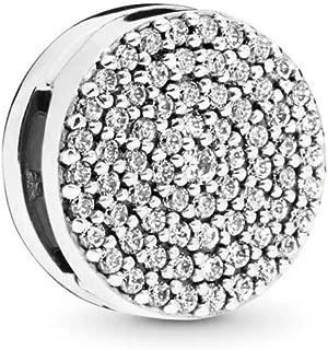Reflexions Dazzling Elegance 925 Sterling Silver Clip Charm - 797583CZ