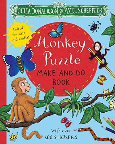 Monkey Puzzle Make and Do Book (Make & Do Books)