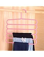 Skyfish® 5 Layer Colorful Pants Scarf Hangers Holders Trousers Clothes Towels Hanger