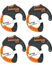 Cable Cuff PRO (4 stuks: 4x middelgrote diameter van 2 inch) Verstelbare kabelbindervervangingen
