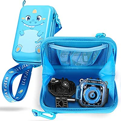 Leayjeen Kids Camera Case Compatible with Agoigo Kids Waterproof Camera Toys for 3-12 Year Old Boys Girls Christmas Birthday Gifts(Case only) by Leayjeen