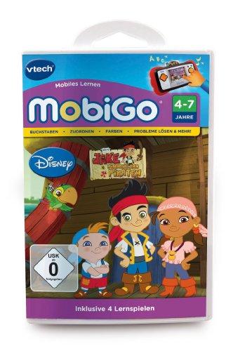 Vtech 80-252804 - MobiGo Lernspiel, Jake und die Nimmerland Piraten