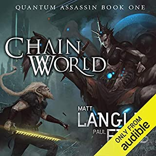 Chainworld audiobook cover art