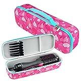 Brappo Hard Travel Case for Revlon One-Step Hair Dryer & Volumizer& Styler (Love)