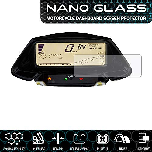Speedo Angels SAMV4NG1 Nano Glass Screen Protector for Mv Agusta Rivale 800 (2014+), 1 x Ultra Clear