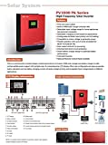 Onduleur multifonction onde pure 3 en 1 3000 VA/24 V/50 A/Chargeur 30 A
