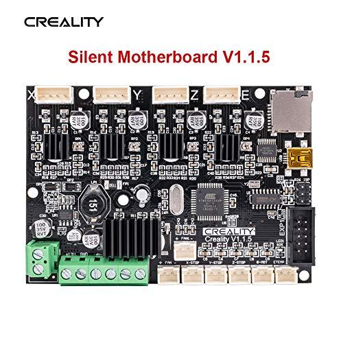 Creality 3D Drucker Upgrade Silent Mainboards V1.1.5 mit TMC2208 Treibern BootLoader Steuerungen Platine 24V/12V für Ender-3/Ender-3 Pro/Ender-5