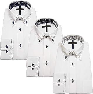 [スティングロード] 【福袋】長袖デザインワイシャツ3点セット D484MRSET メンズ