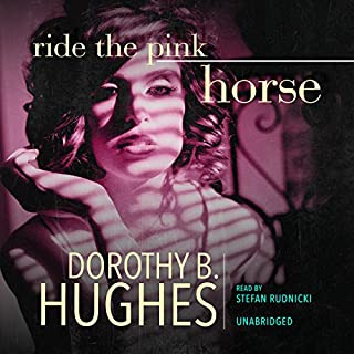 Ride the Pink Horse audiobook cover art