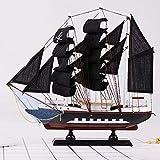 WSJTT 1583 Segeln Windjammer Boot aus Holz-Modell-Fertigkeit-Dekor -