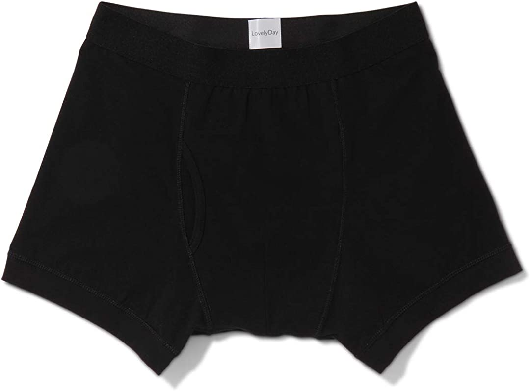 100% Organic Cotton Mens Boxer Briefs Underwear - Made in Portugal