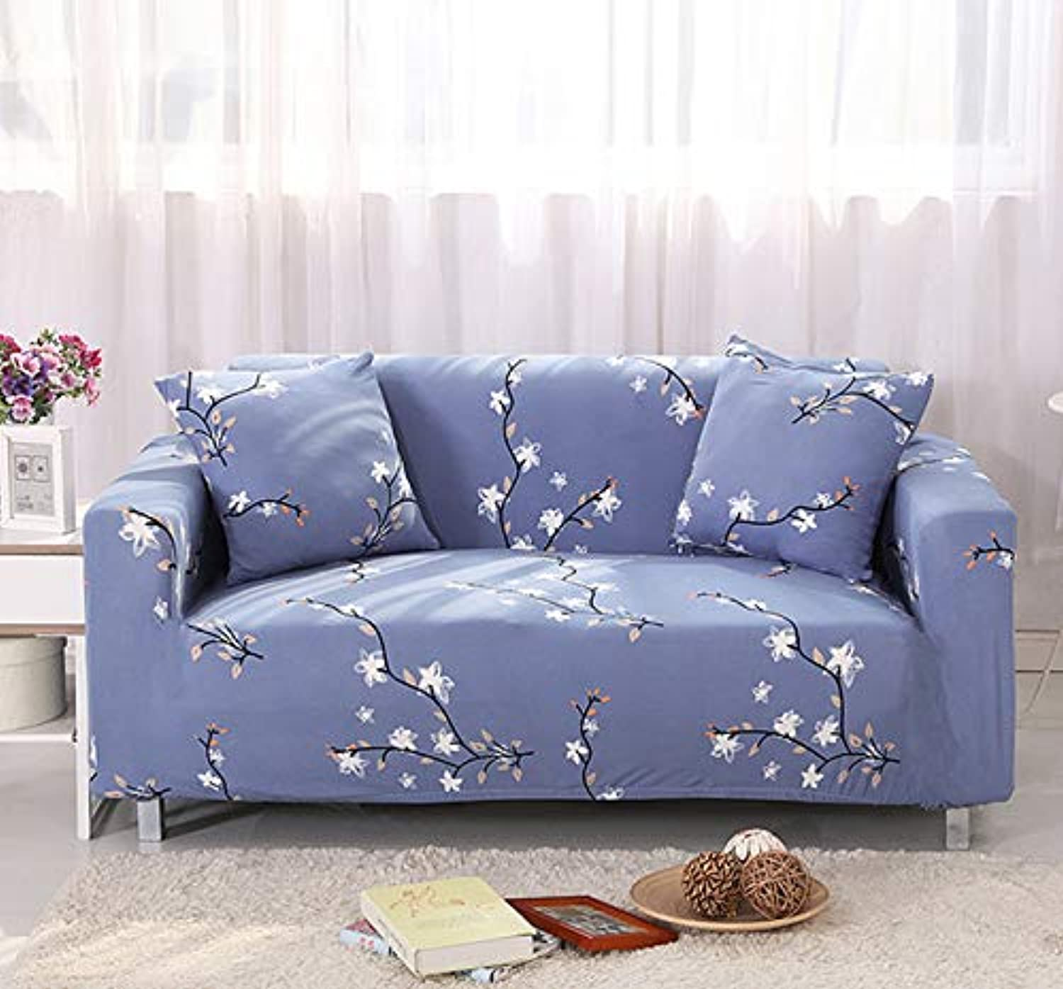 High Quality Couch Cover Sofa Covers for Living Room Lobby Soft Sofa Cover Elastic Universal Seats Cover cubierta para Sofa   QiLiXiang, Single Seater