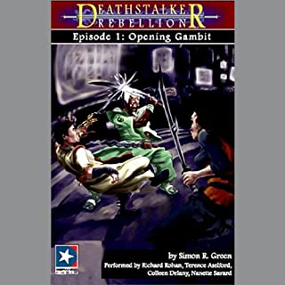 Deathstalker Rebellion Collection audiobook cover art