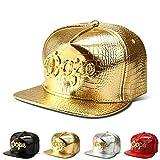Sombrero de Hip-Hop Gorra de béisbol con Borde Plano (Dope, por Sus siglas en inglés) Estilo Casual Humedad Unisex Ajustable Mecha de Secado rápido