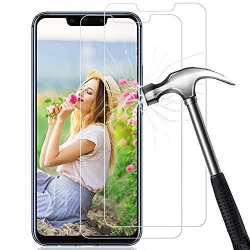 FUMUM Huawei Mate 20 Lite Panzerglas Folie [2,5D],Premium 9H Gehärtetes Glas Schutzfolie für Huawei Mate 20 Lite Displayschutzfolie [Anti Fingerabdruck] [Anti-Bläschen] (Transparent)