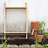 Raw Rutes Cedar Garden Sifter for Compost, Dirt and Potting...