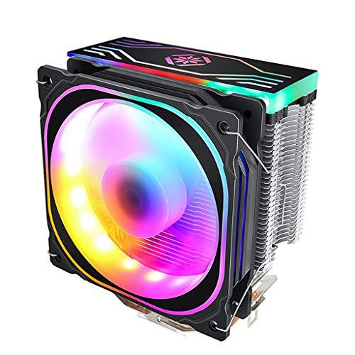 petsola Radiador del Disipador de Calor del Ventilador del Refrigerador de La CPU del LED para El Zócalo de Intel LGA1156 / 1155 AM2 AM2 +