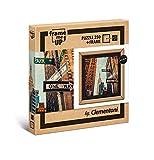 Clementoni- Puzzle con marco 250 pzas One way, Multicolor (38502) , color/modelo surtido