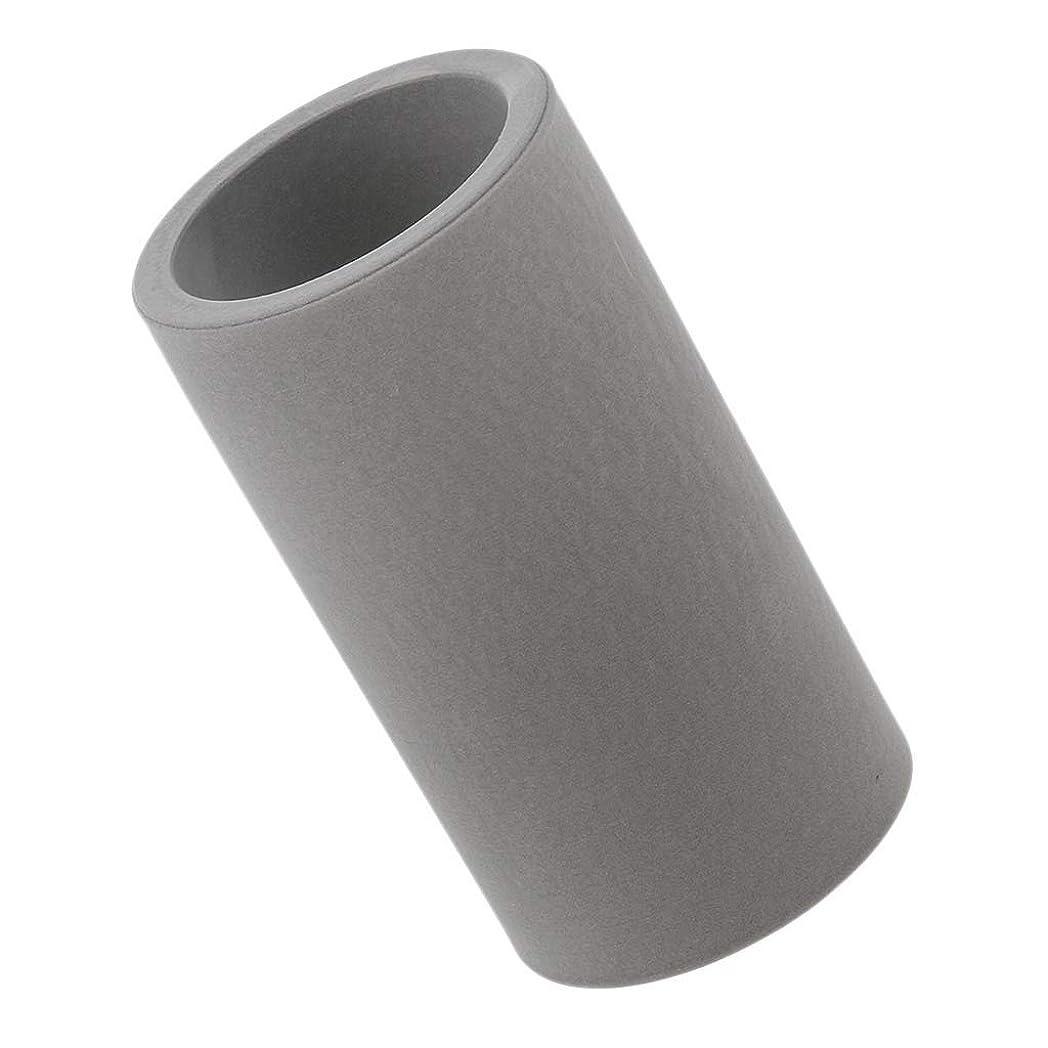 北西失われたゴミ箱を空にする(非ブランド品) 歯ブラシホルダー ペーストスタンドホルダー カップ 歯磨きコップ 用 収納ラック 2色選べ - ダークグレー