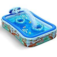 Hamdol Inflatable Swimming Pool with Sprinkler