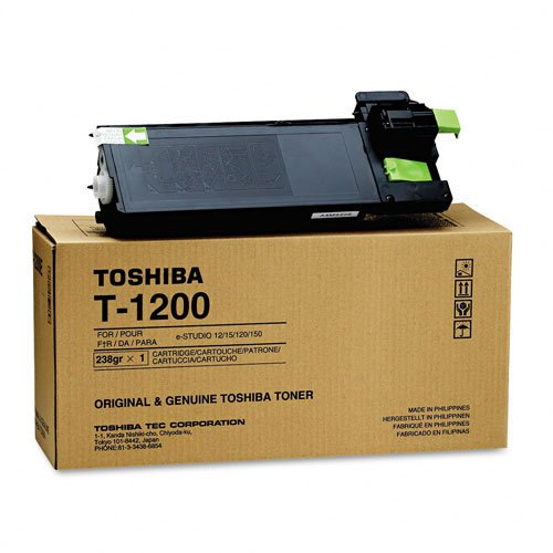 Toshiba Part # T-1200 OEM Toner Cartridge - 8,000 Pages