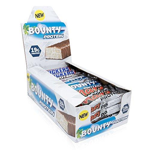 Mars Snickers Bounty–Protein Bar Barretta Proteica Mix Box, 18pezzi