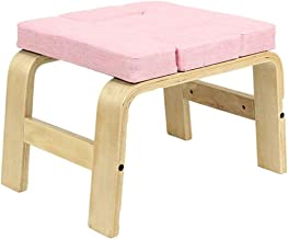 Holz Fitness Schlafkissen Massivholz Cervical Support Kissen Massage Meditation B/änke Fitness Yoga Hocker F/ür Gym Home Training