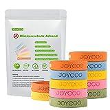 Joycoo Mckenschutz Armband 12er-Pack Insektenschutz-Armband 100% natrlich, Deef-Frei, ungiftiges, sicheres Armband fr Kinder, Erwachsene und Haustiere whrend des Campings Reisen