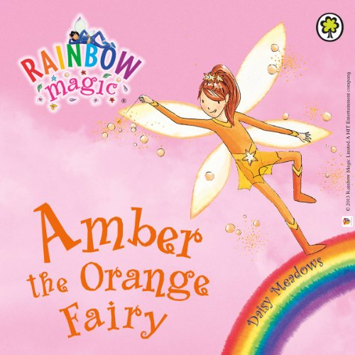 Rainbow Magic: The Rainbow Fairies 2: Amber the Orange Fairy audiobook cover art